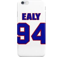 National football player Kony Ealy jersey 94 iPhone Case/Skin