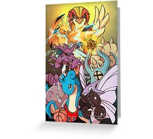 Twitch Plays Pokemon Greeting Card