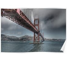 Golden Gate Bridge (Landscape) Poster