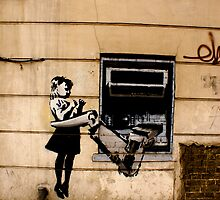 LONDON STREET ART  by Kiwikiwi