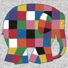 Elmer the Elephant by carrieclarke