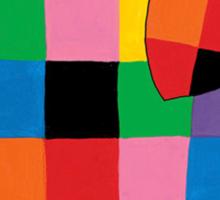 Elmer the Elephant Sticker