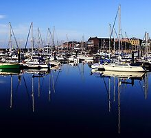 Bangor Marina by Wrayzo