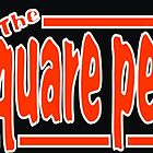 &#x27;The Square Peg&#x27;  .. t-shirt logo 1 by thesquarepeg