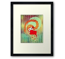 Anguish of Scorpio Framed Print