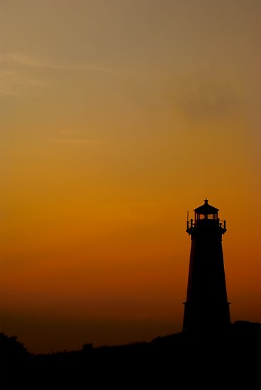 Lighthouse at Dusk by Shane Shaw