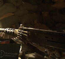 Machine Gun Nest by Justin Shaffer