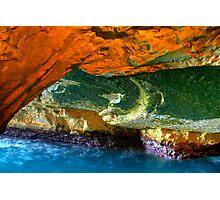 Rosh HaNikra Grottoes, Israel Photographic Print