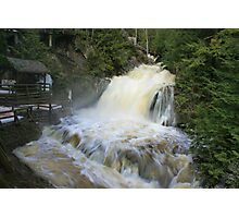 Misty spring falls, Victoria Park, Truro, NS Photographic Print