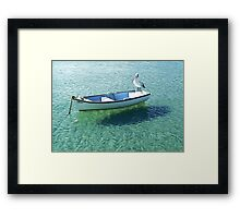 Captain Pelican Framed Print