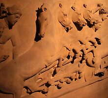Lycian Sarcophagus - 5th BCE - Istanbul Archaeology Museum by MacLeod