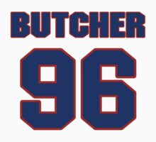 National football player Paul Butcher jersey 96 by imsport
