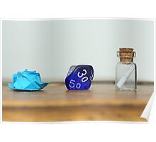 the rose, the dice and the bottle Poster