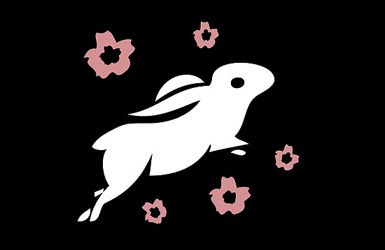 white rabbit by littlegirllost