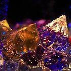 Crystal Water Sculpture by Debbie Moore