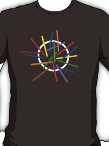 Depeche Mode : Sounds of the Universe Logo - 2 - Color for black T-Shirt