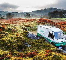 Library Van in the Lake District by AWilsonPhoto