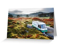 Library Van in the Lake District Greeting Card