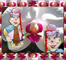 Jester Buttons Toddler 72 cm height by CrismanArt