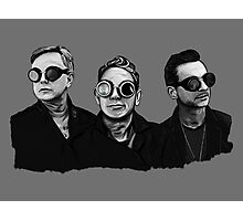 Depeche Mode : Fletch, Martin, Dave with welding glass (2) Photographic Print