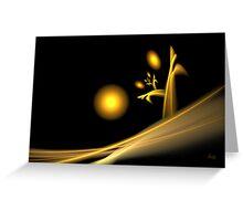 Dawn on Desolation - card Greeting Card