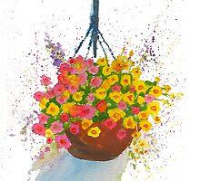 Hanging Basket by TheKatydid