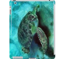 Friendly Sea Turtle iPad Case/Skin