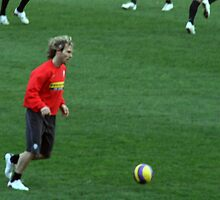 Pavel Nedved by Christian  Zammit