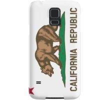 California State Flag Samsung Galaxy Case/Skin