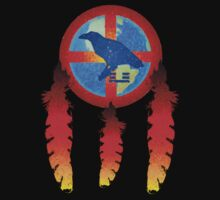 Earth Medicine-Crow Tee by Jan Landers