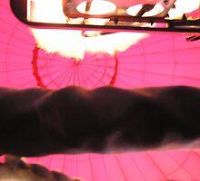 Flame inside a Hot Air Ballon by kateilles
