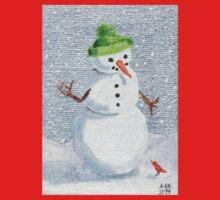 Snowman Friend Kids Clothes
