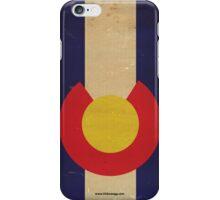 Colorado State Flag VINTAGE iPhone Case/Skin