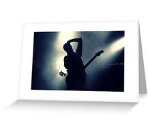 Jesse Lacey of Brand New at Jannus Landing Greeting Card