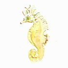 Seahorse by the seashore by The  Bunny Theory