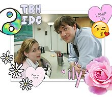 The Office Us Jim and Pam Tumblr Transparent  by jamiehamay