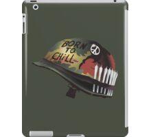 Born To Chill iPad Case/Skin