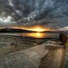 Sunrise at Criccieth by Rob Hawkins