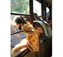 Train Ride Photographic Print