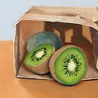 kiwi fruit by ria hills