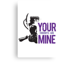 Yuri - Your thoughts are mine Canvas Print