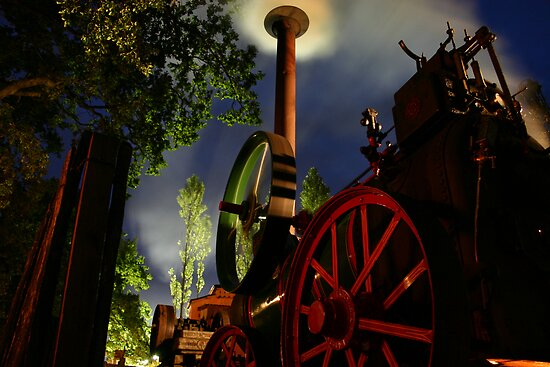 Steam by Night by Dawn Hutchinson