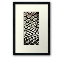 Forbidden court Framed Print