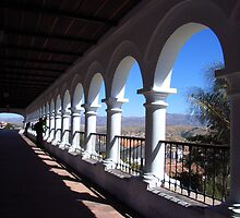 Bolivian balcony by Elaine Stevenson
