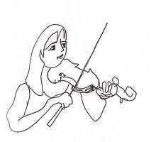 Violinist by erincox
