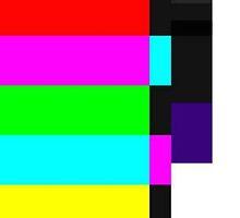SMPTE color bars case by cashmoneysara
