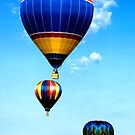 Three Airborne Balloons by halnormank