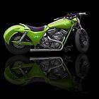 Custom Bike Greenn by William Reed