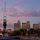 London Docklands by Mark Thompson