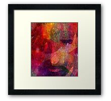 I can see tight through you Framed Print